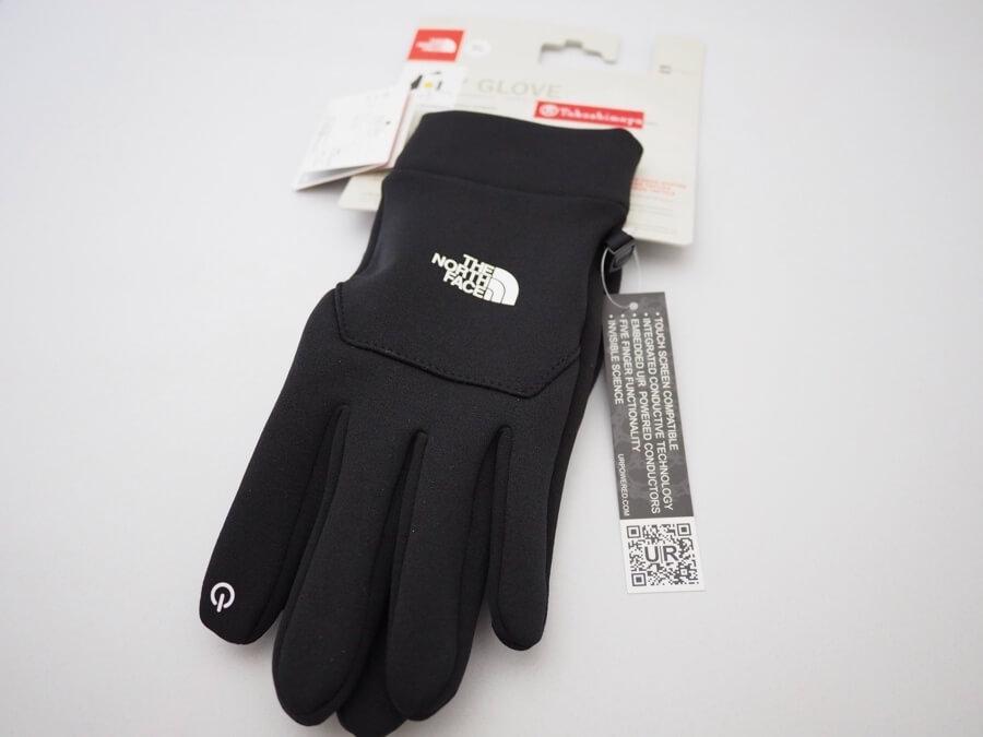 さすがノースフェイス!ETIP Glove(イーチップ グローブ)は冬のランニングの必需品!