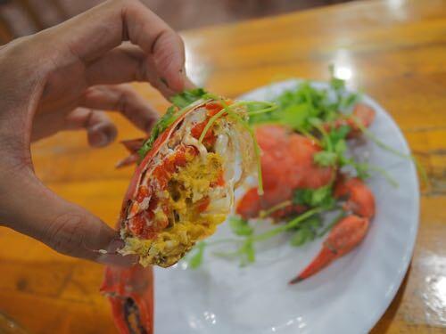 ダナン ミーケビーチのレストラン「HAU SUA QUAN」シーフードが絶品でオススメ