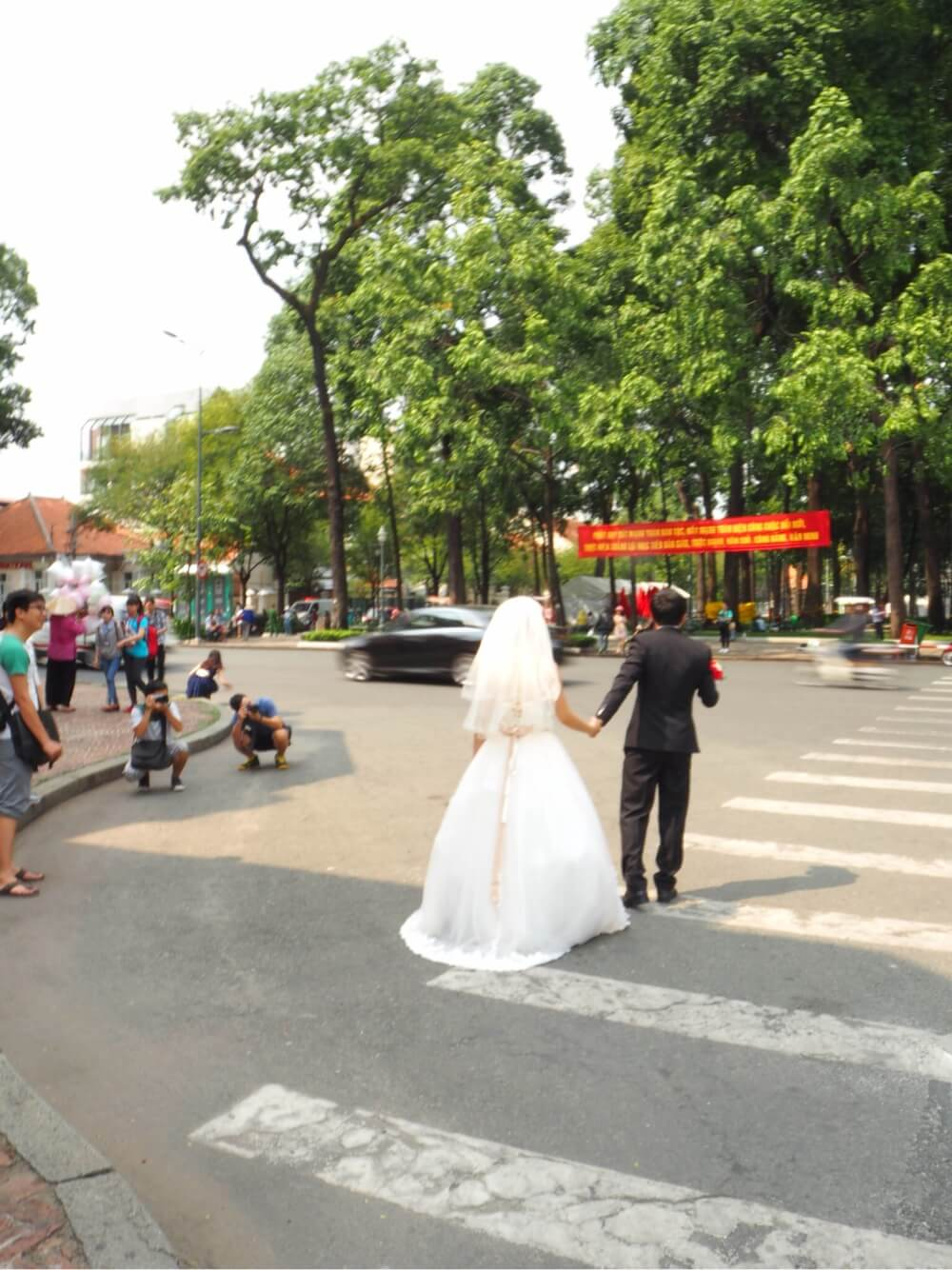 サイゴン大教会 結婚記念写真
