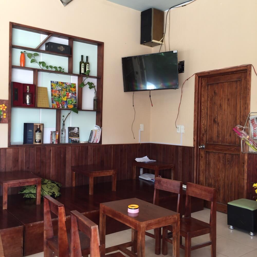 ベトナムのカフェ