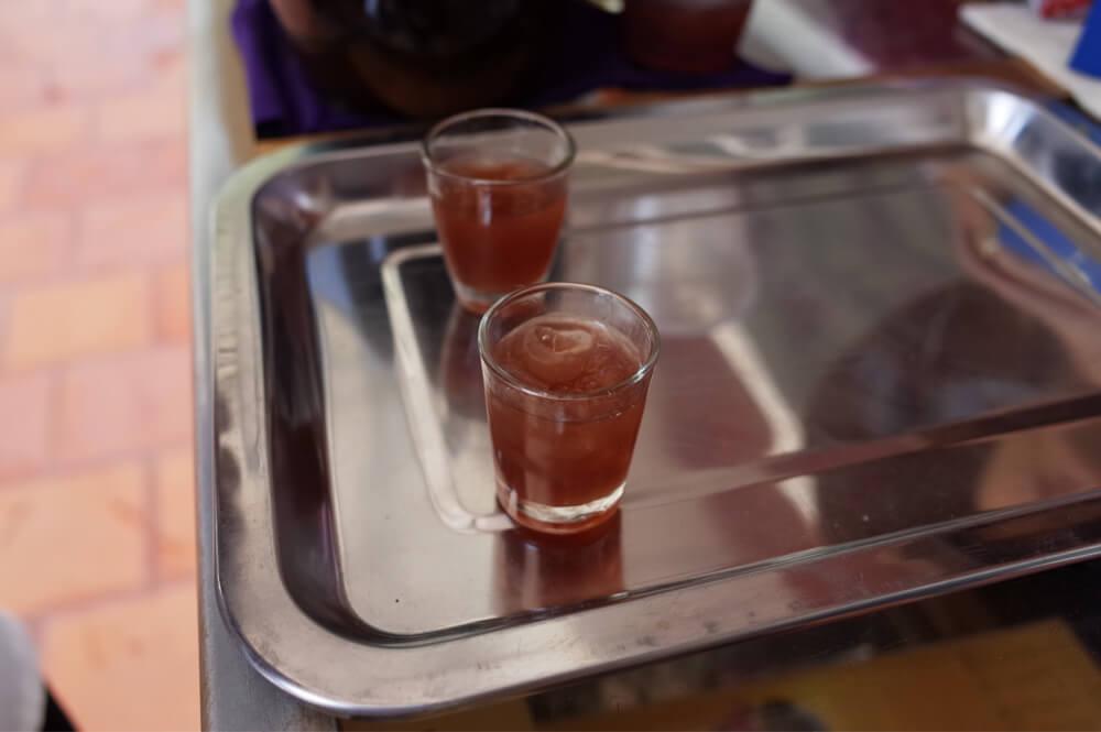 酒造の実酒試飲