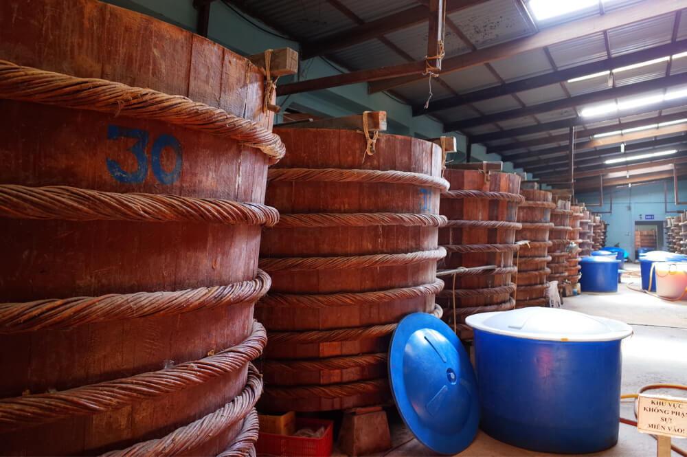 ヌクマム工場