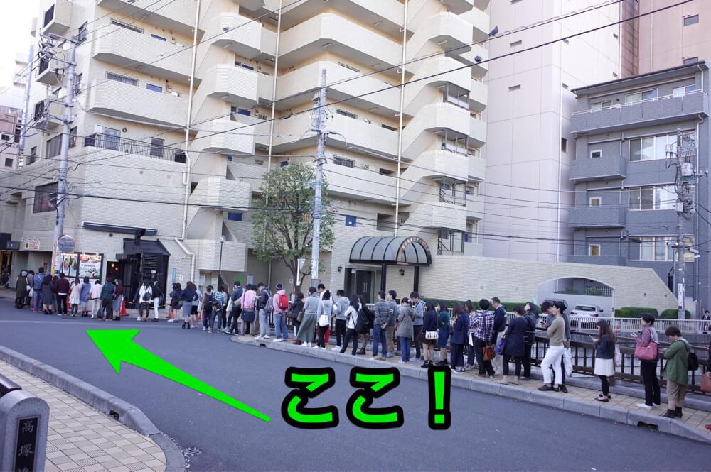 高田馬場 レッドロック 行列