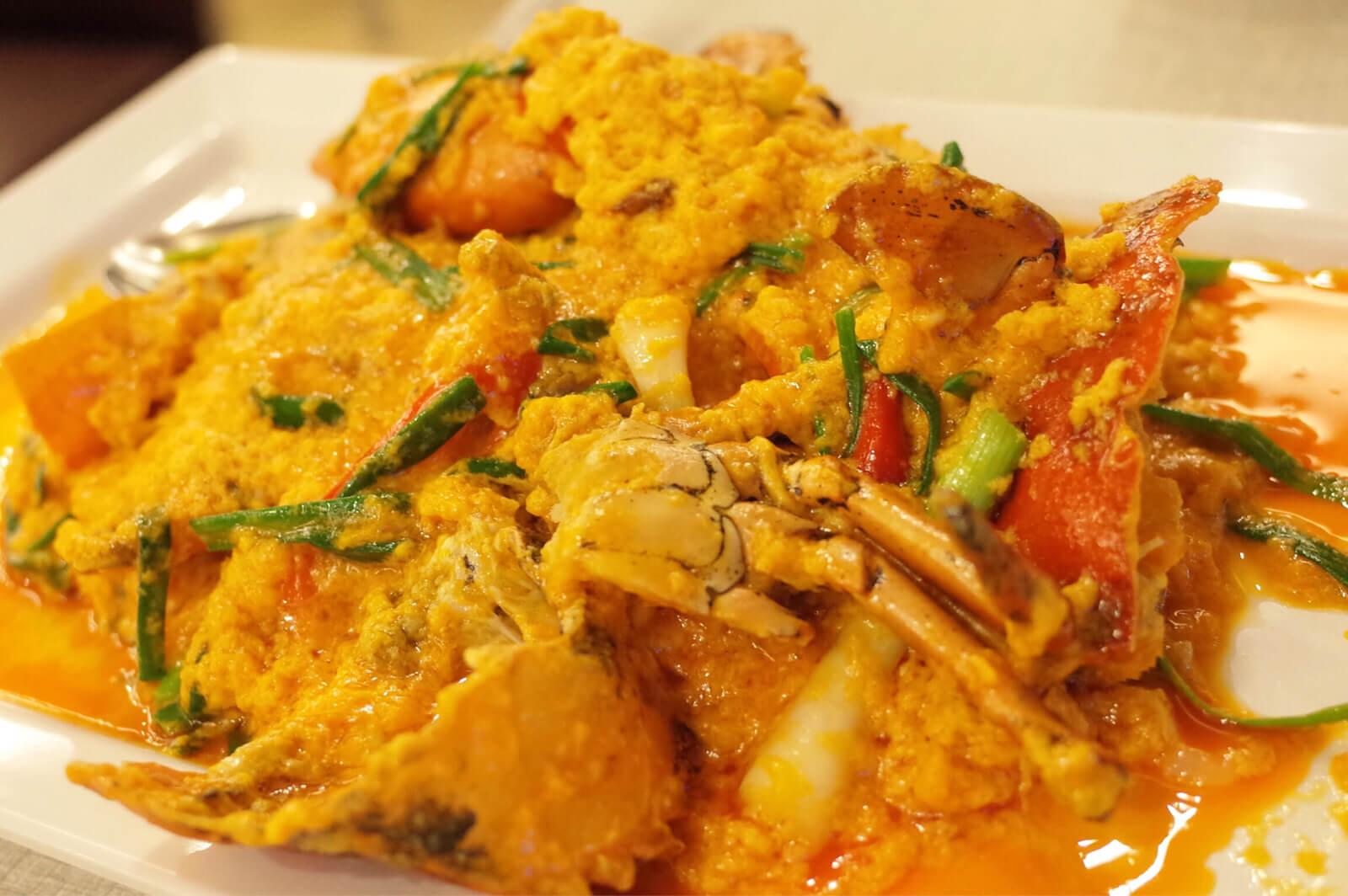 ソンブーン バンコク 〜 プーパッポンカリー発祥の店で豪快にカニを喰らう!カニ、カレー、卵のハーモニーが最高
