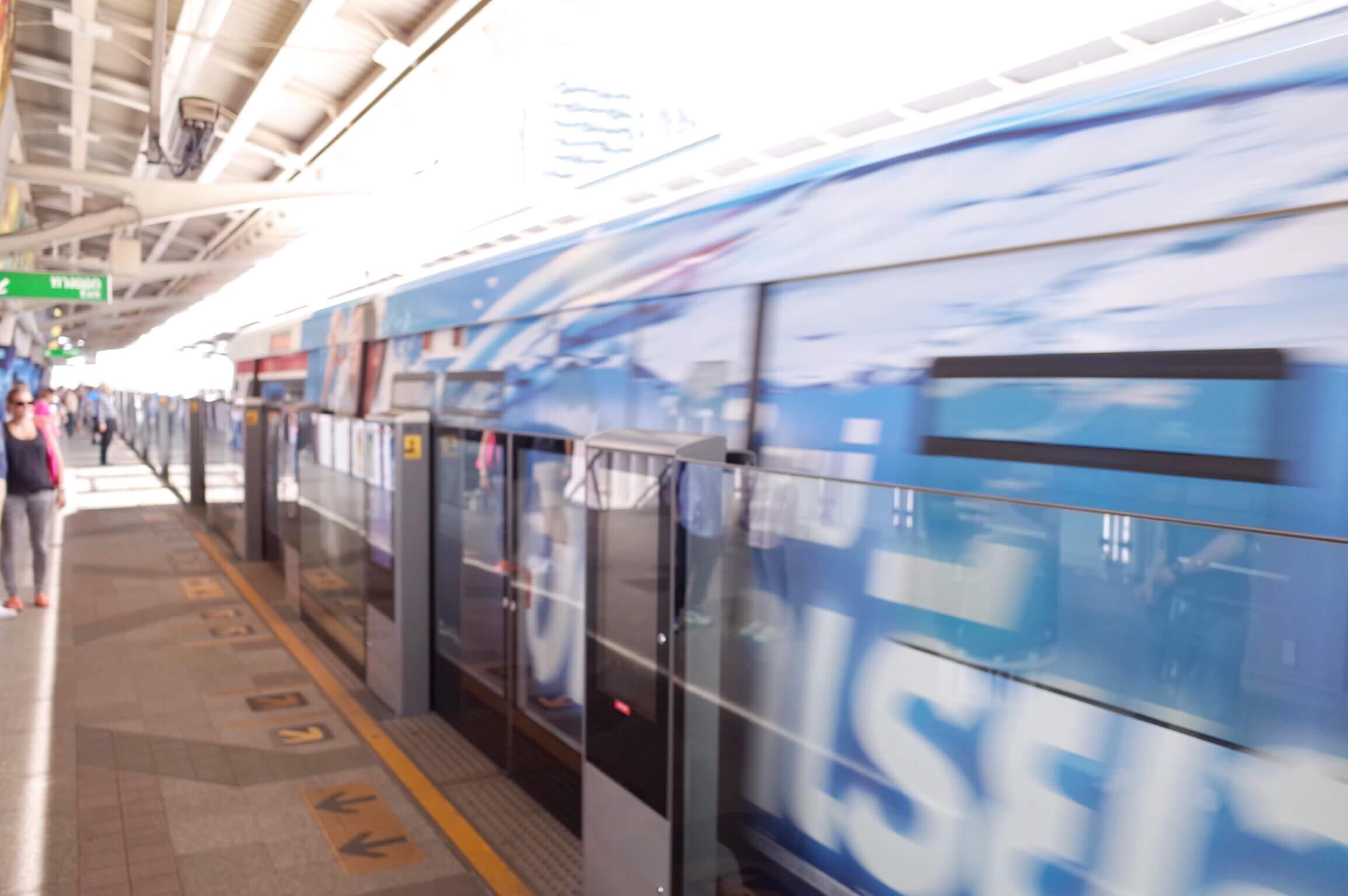 バンコク 電車 | BTSにのってきた!乗り方・券の買い方・注意事項など