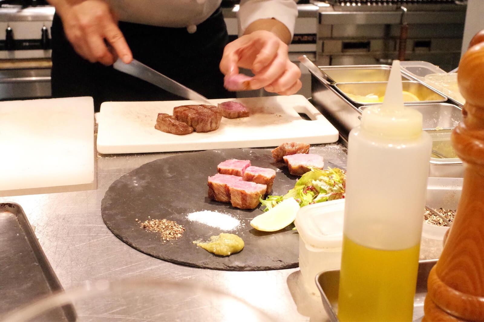 センバキッチン 熟成肉 カット