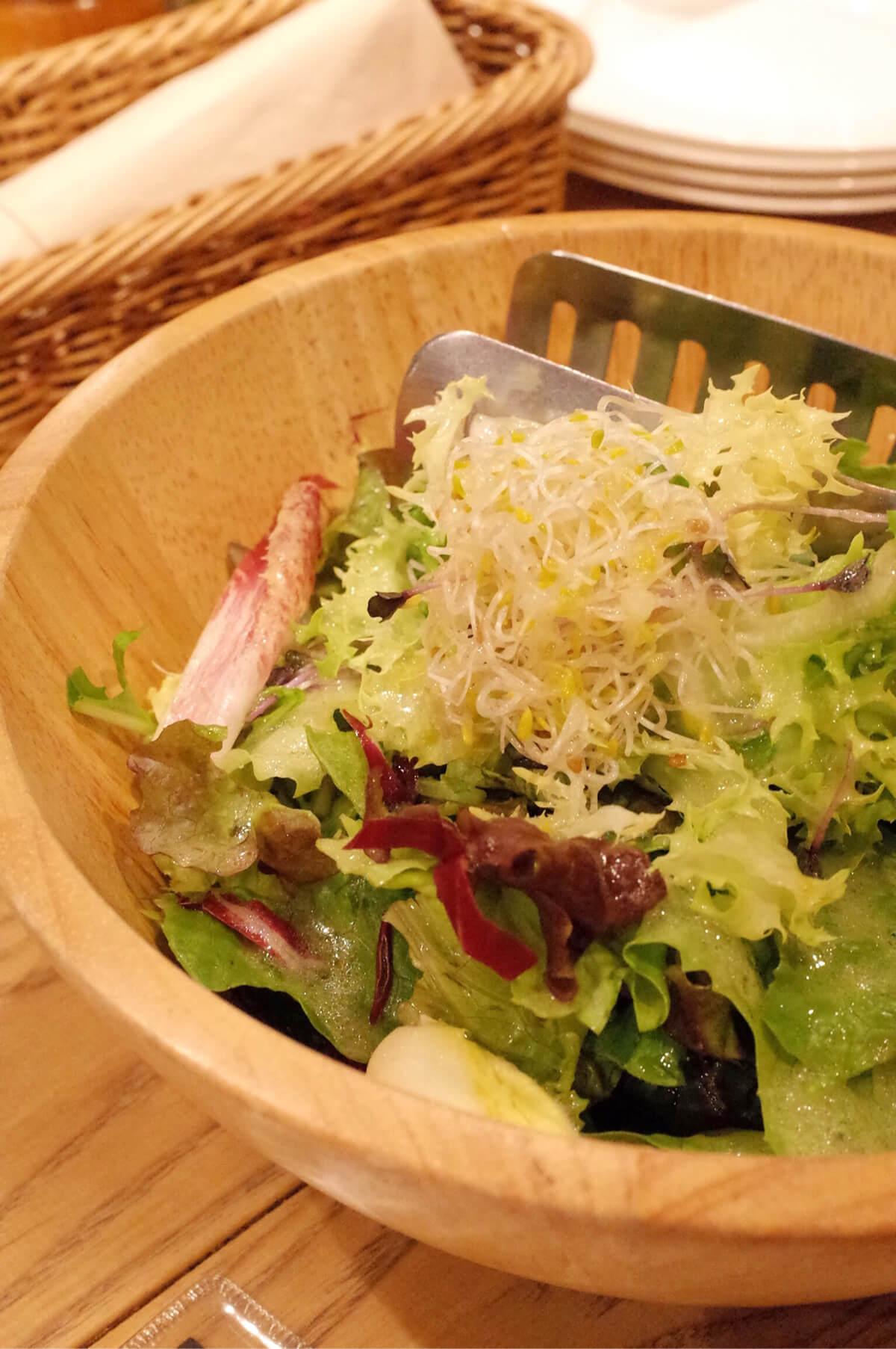 センバキッチン サラダ