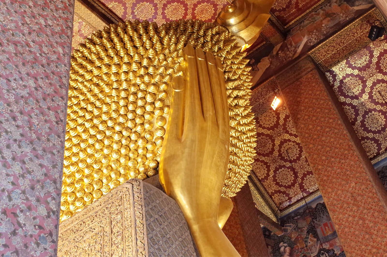 ワット・ポー バンコク タイ お釈迦様 後頭部