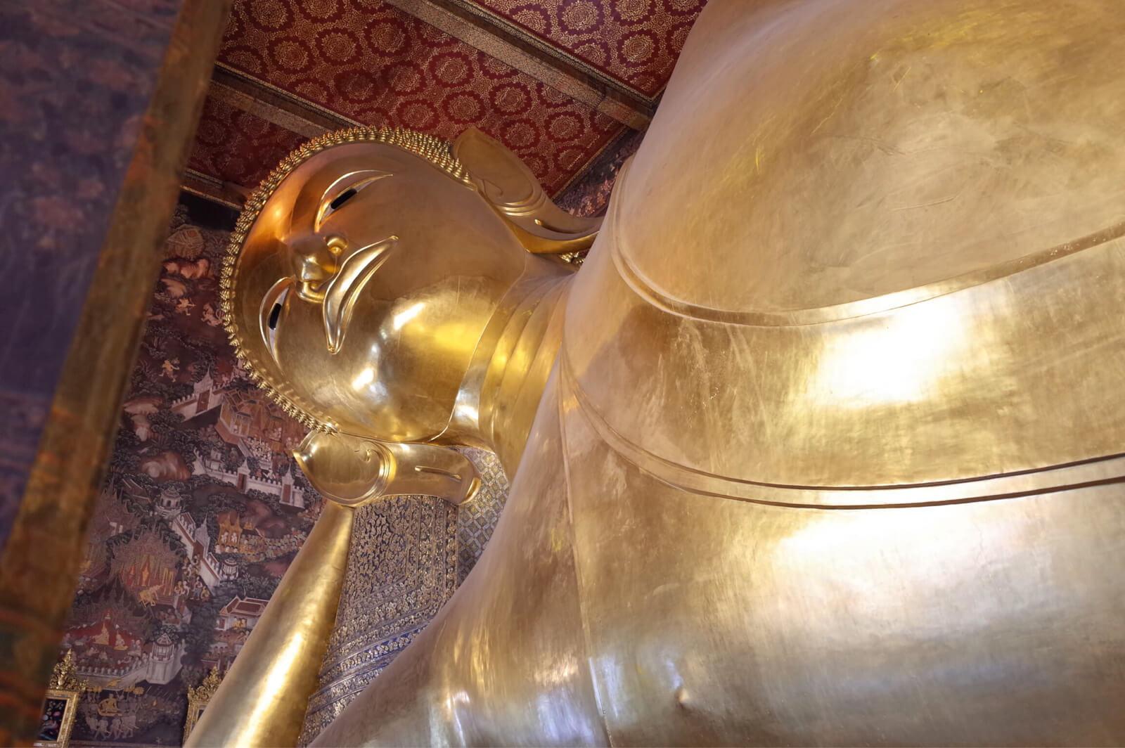 ワット・ポー バンコク タイ お釈迦様