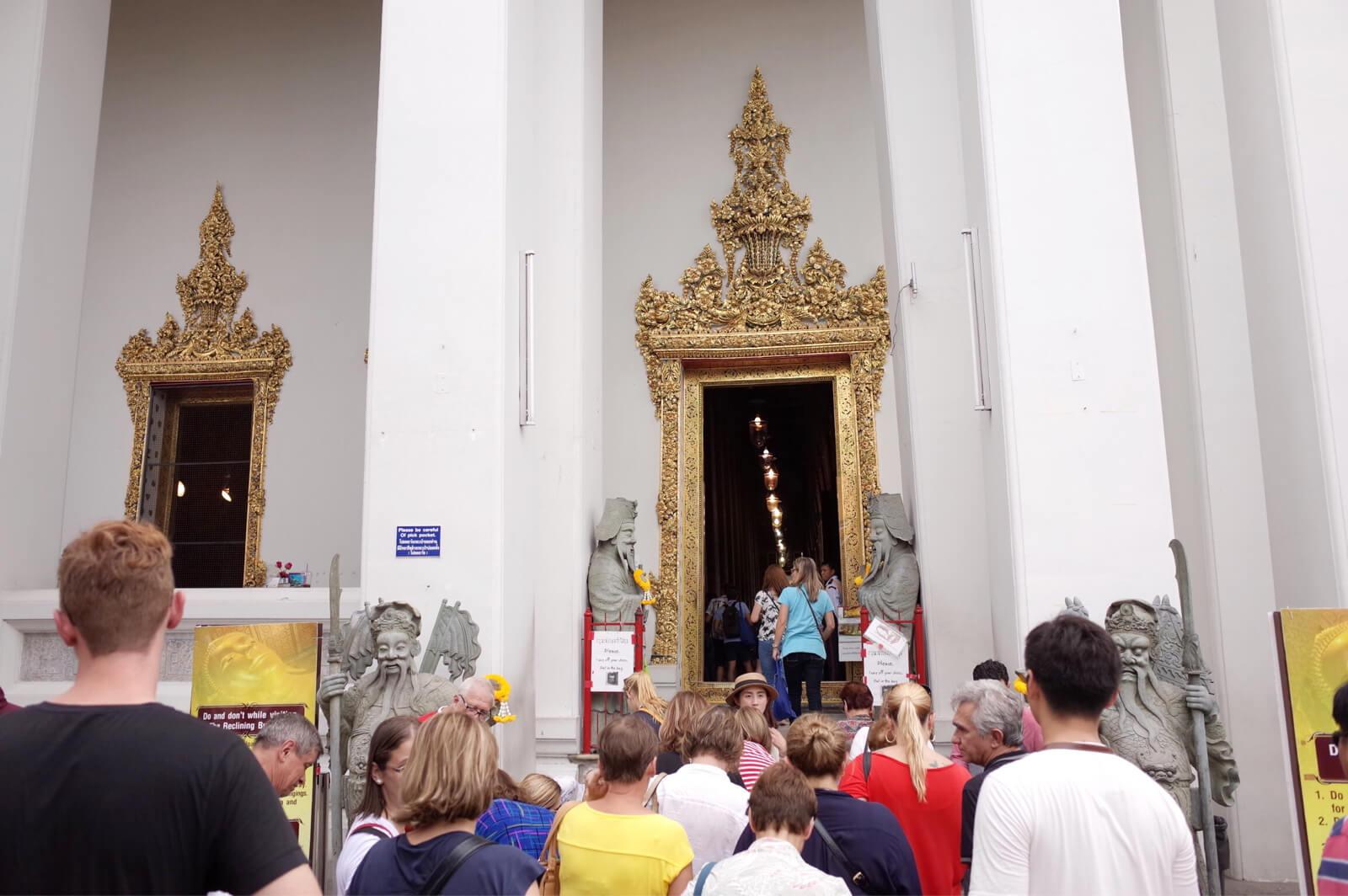 ワット・ポー バンコク タイ 釈迦堂