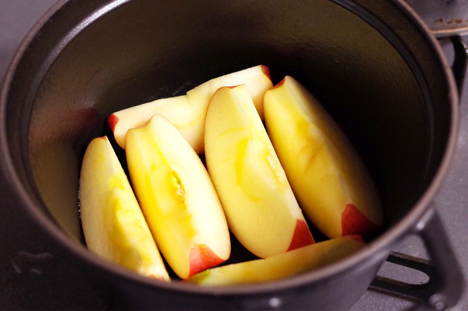 ストウブ STAUB 焼きリンゴ はじまり