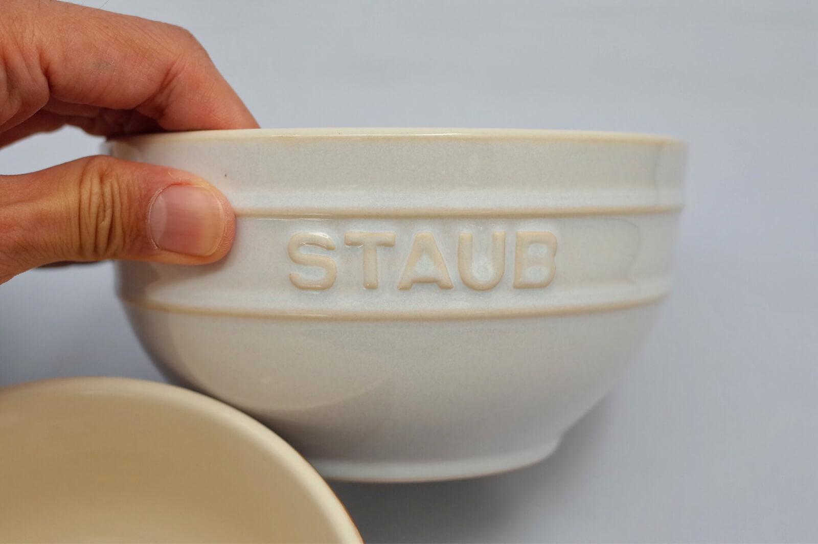 staub セラミック ボウル 14cm アイボリー