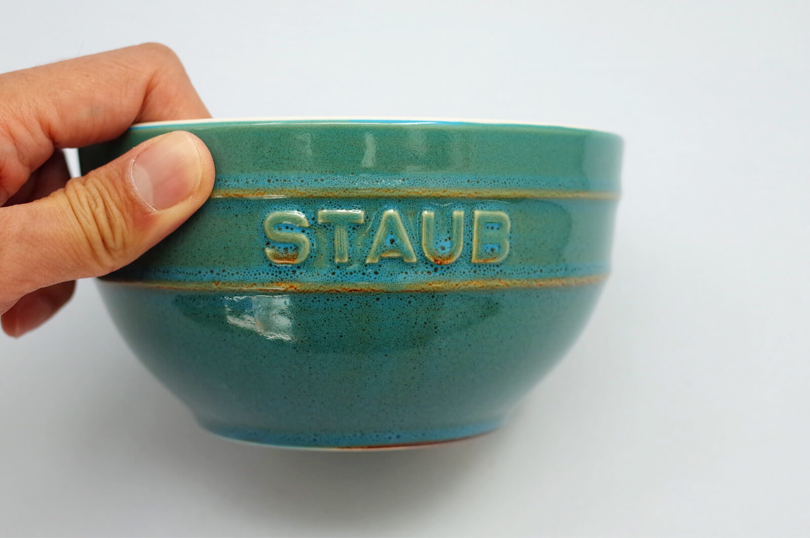 staub セラミック ボウル 14cm ターコイズ