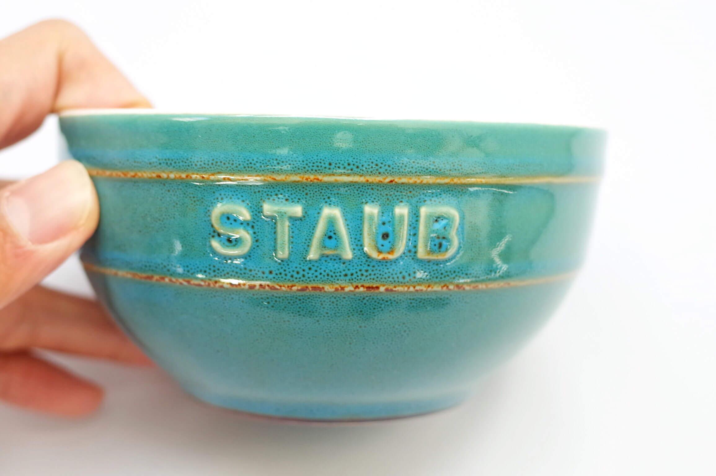 STAUB セラミック | 12cmのボウルは茶碗やスープを入れるのに大活躍!