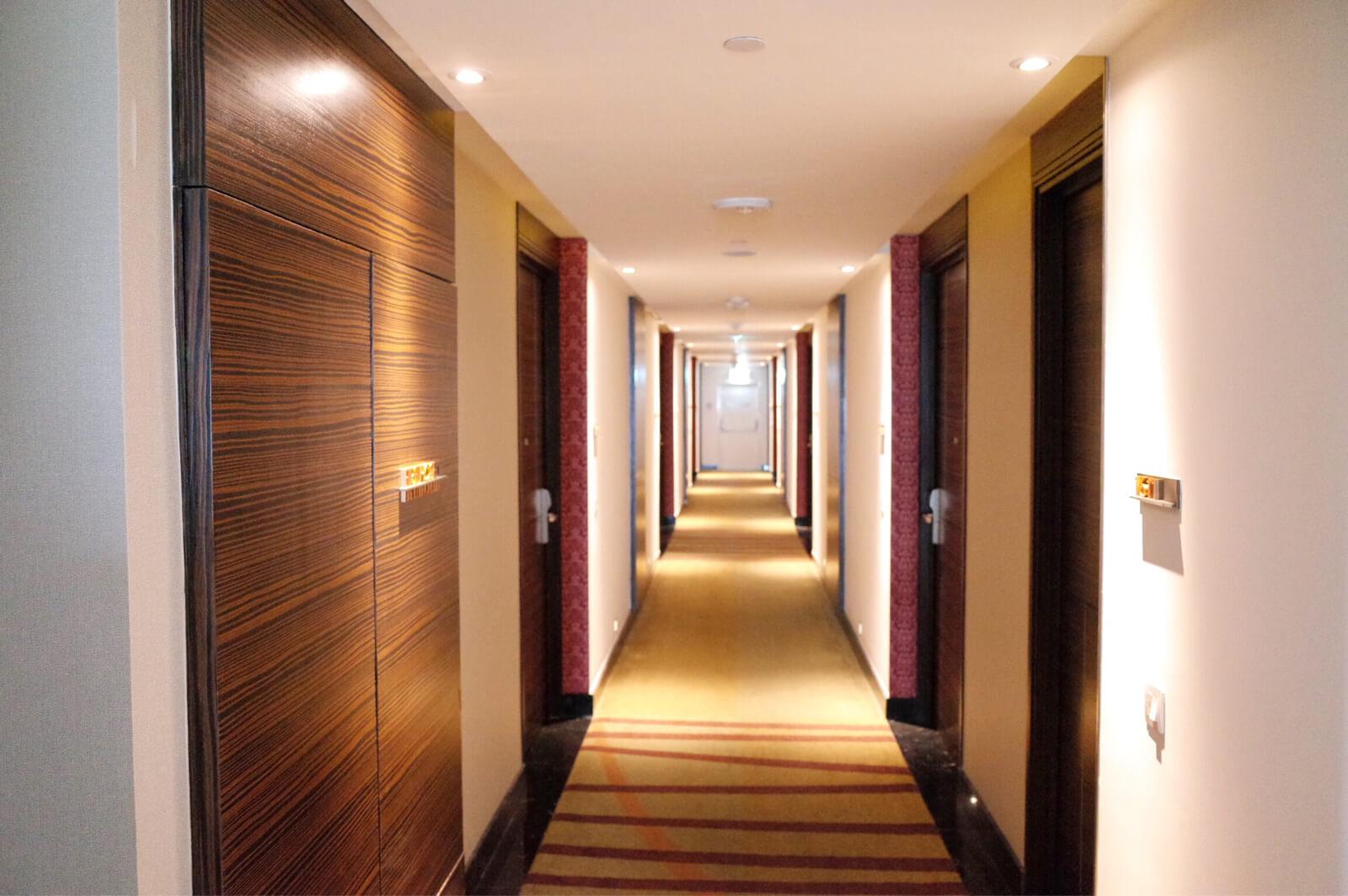 メリディアン バンコク 廊下