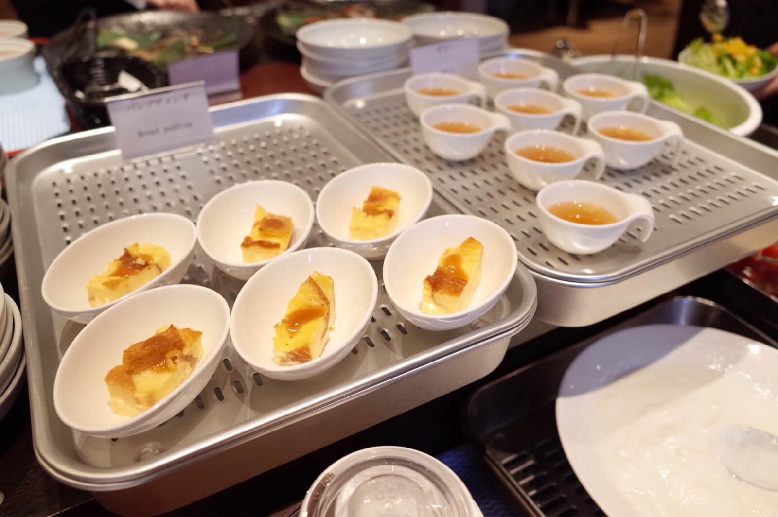 ダイワロイネット 北浜 朝食 ブッフェ デザート