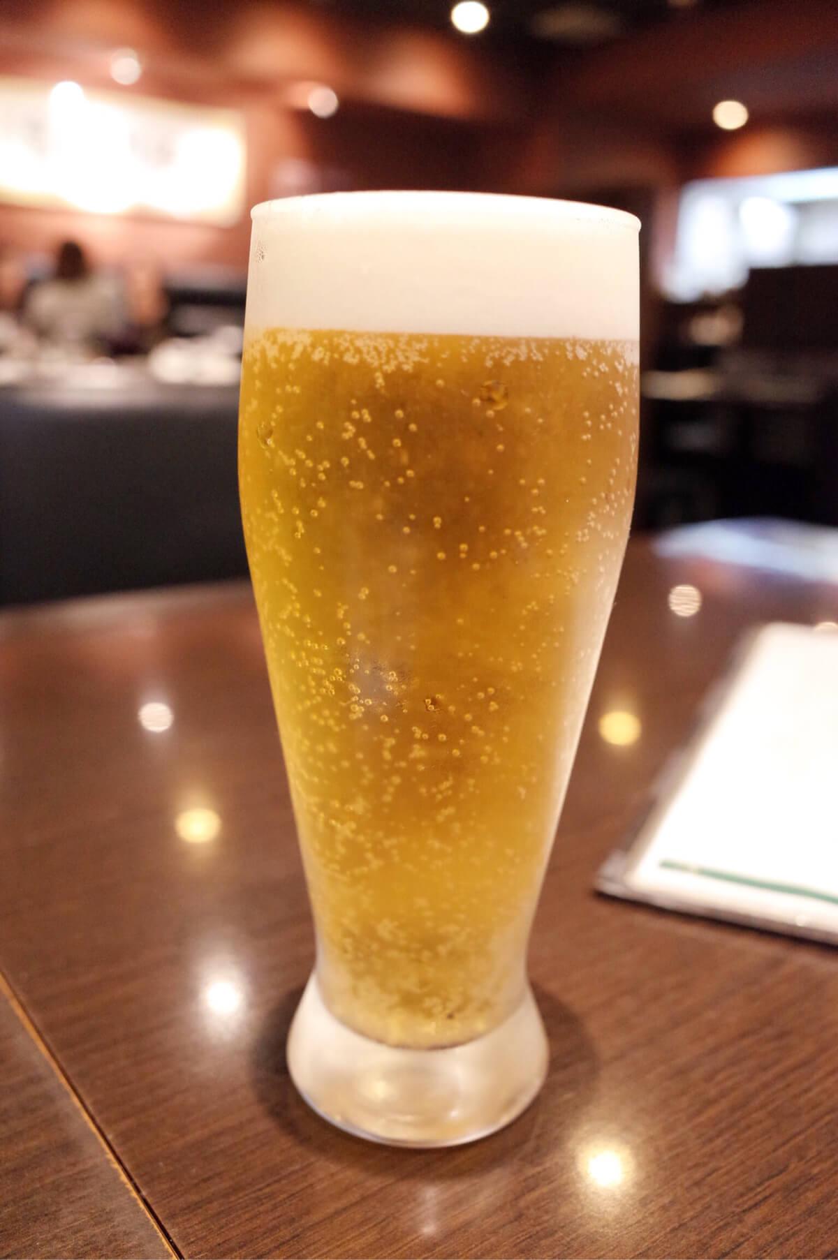蘭亭 大阪 谷町九丁目 上本町 ビール
