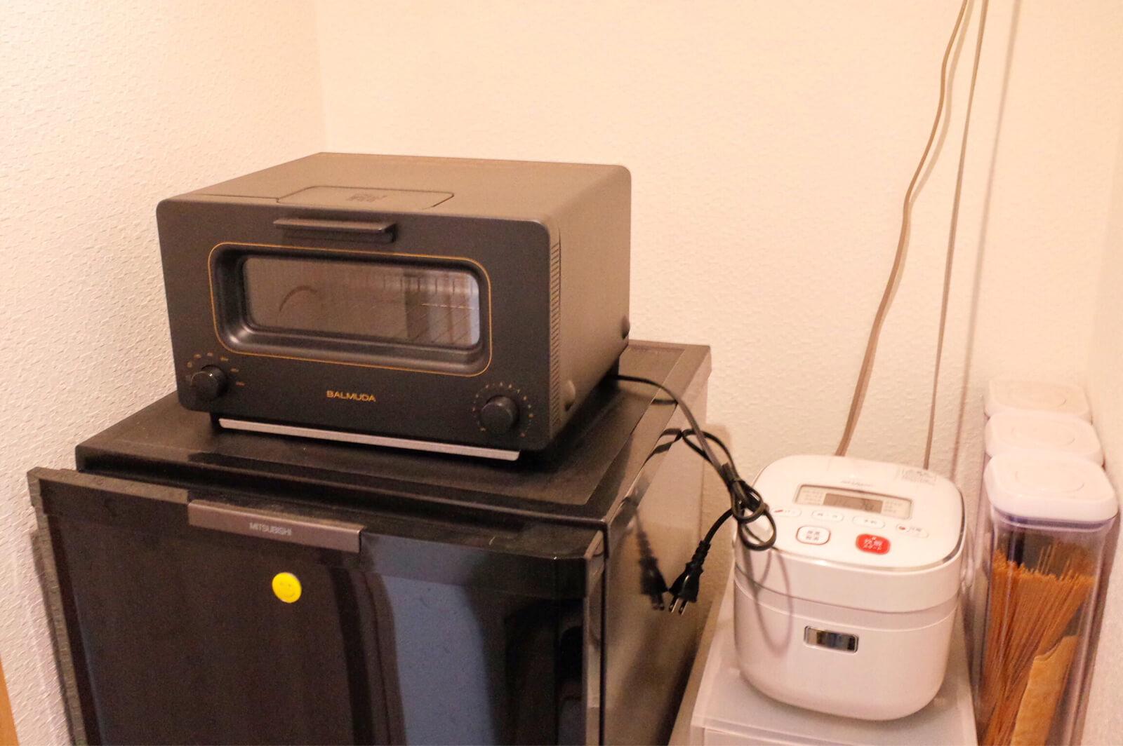 バルミューダ BALMUDA トースター 設置