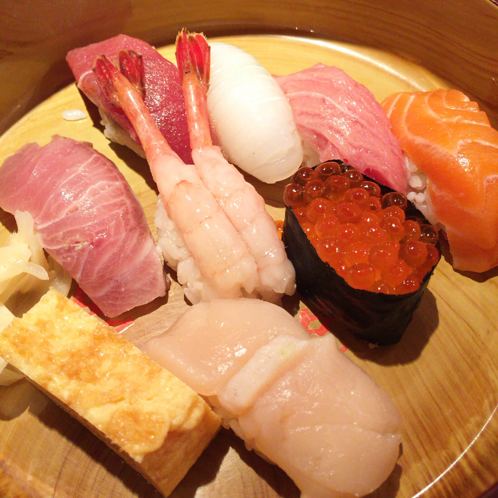 築地朝食会 寿司