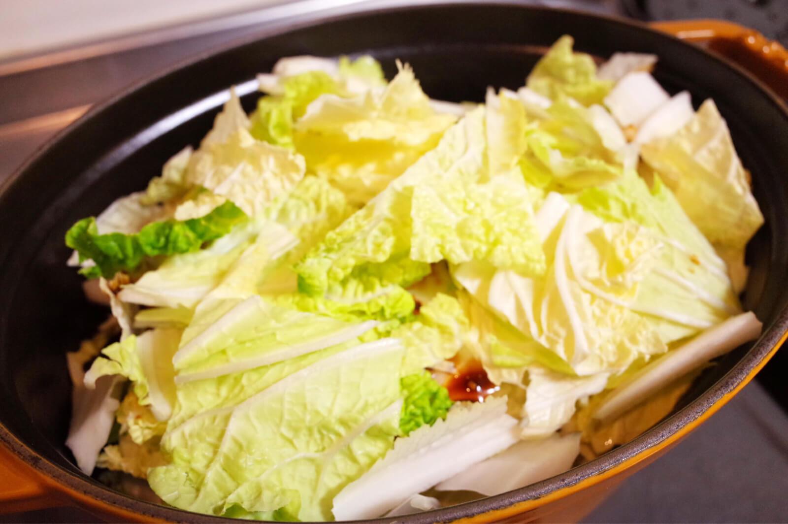 白菜 重ね煮