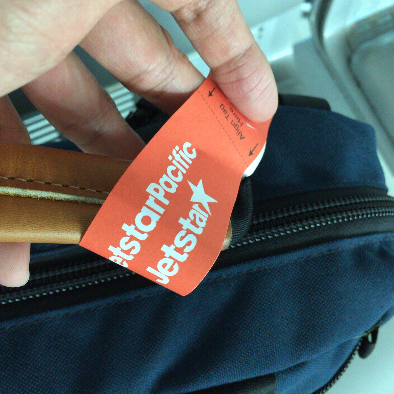 ジェットスターパシフィックに乗るひとは注意!機内持込手荷物の重量をチェックされた