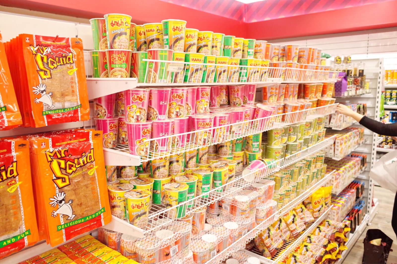 ドンムアン空港 お土産 カップ麺