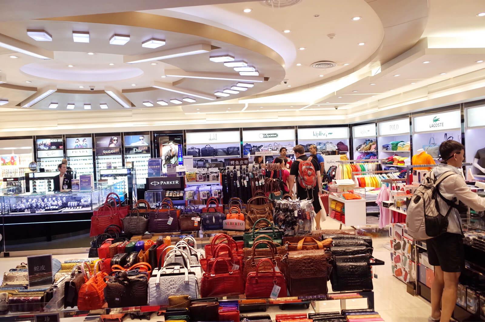ドンムアン空港 免税店
