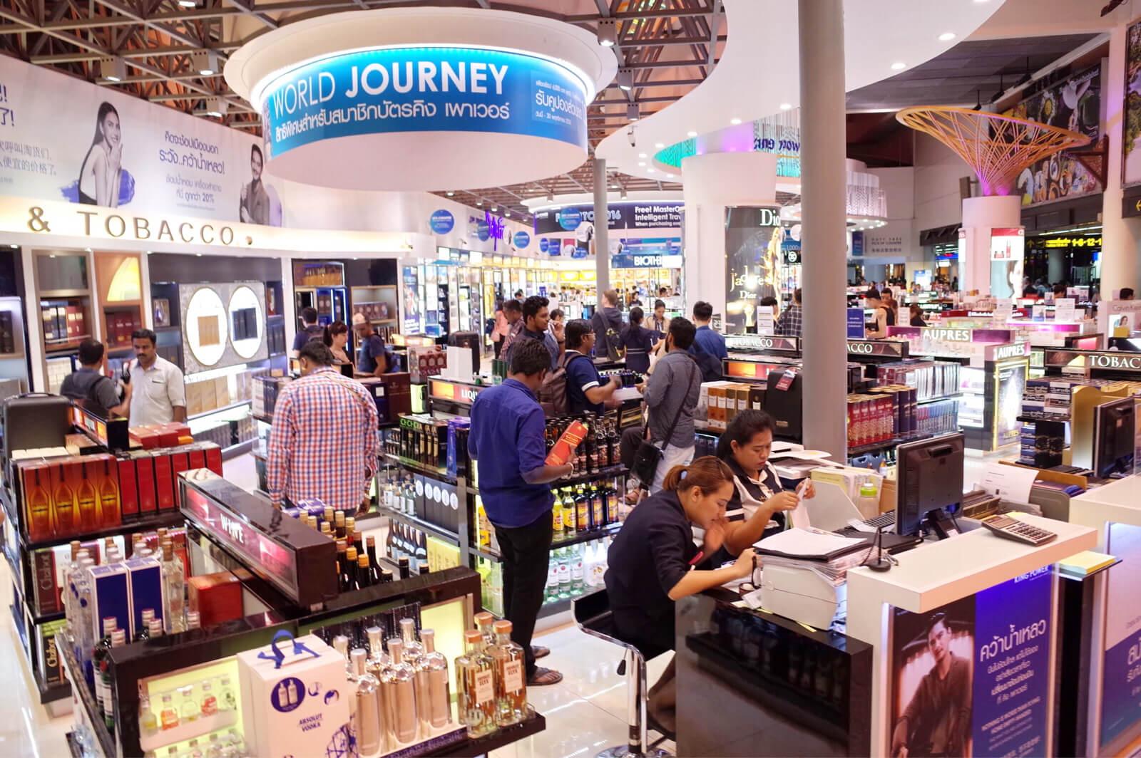ドンムアン空港 バンコク | お土産は空港で買おう!お菓子もブランド品もなんでもあるよ!