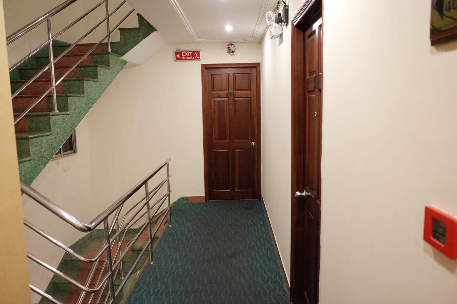 アジアンルビーセントラルホテル ホーチミン 廊下