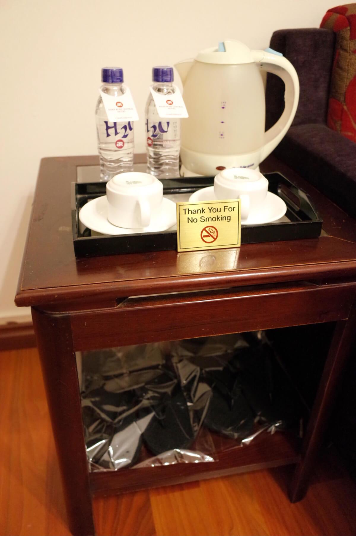 アジアンルビーセントラルホテル ホーチミン 飲み物