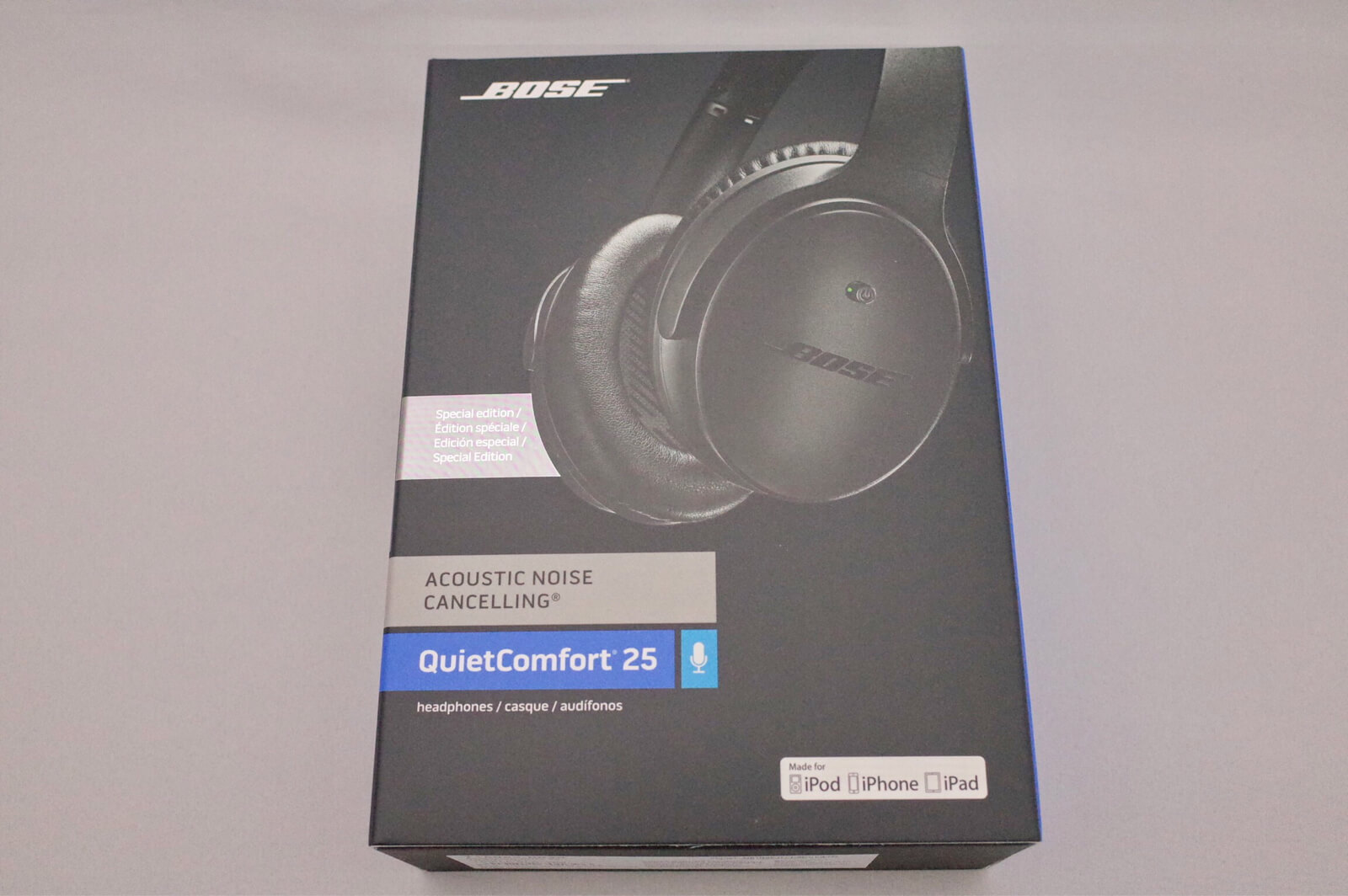 BOSE QuietComfort 25 箱