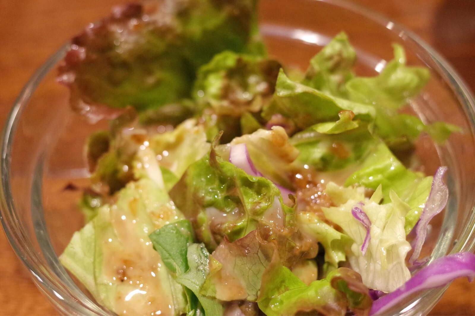 江坂 ランチ 清粥小菜 サラダ