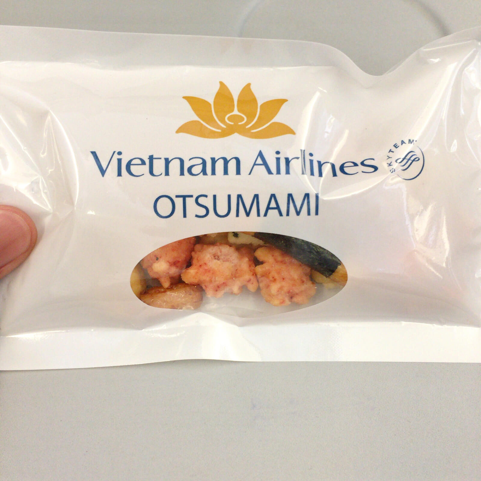 ベトナム航空 機内食 スナック