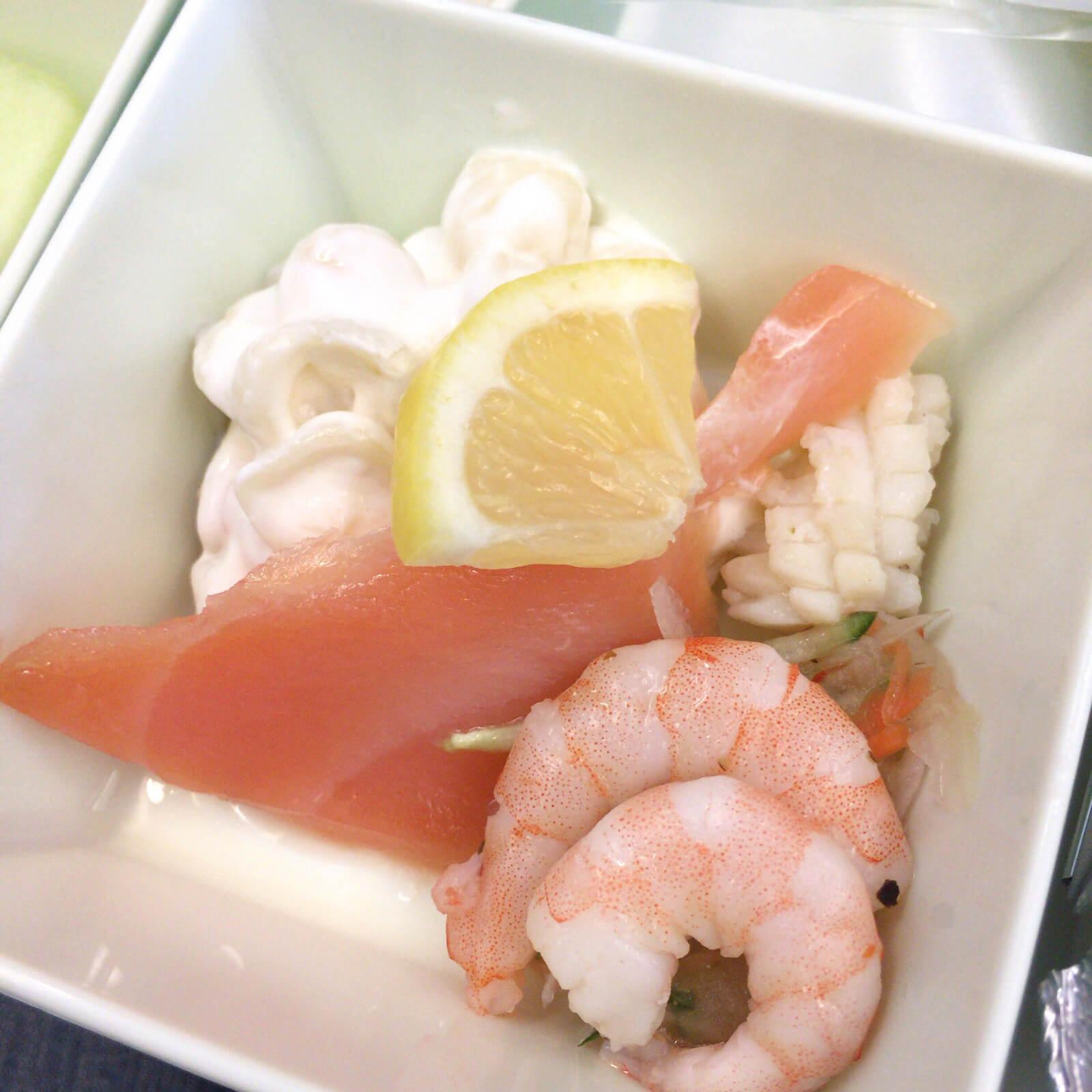 ベトナム航空 機内食 マリネサラダ