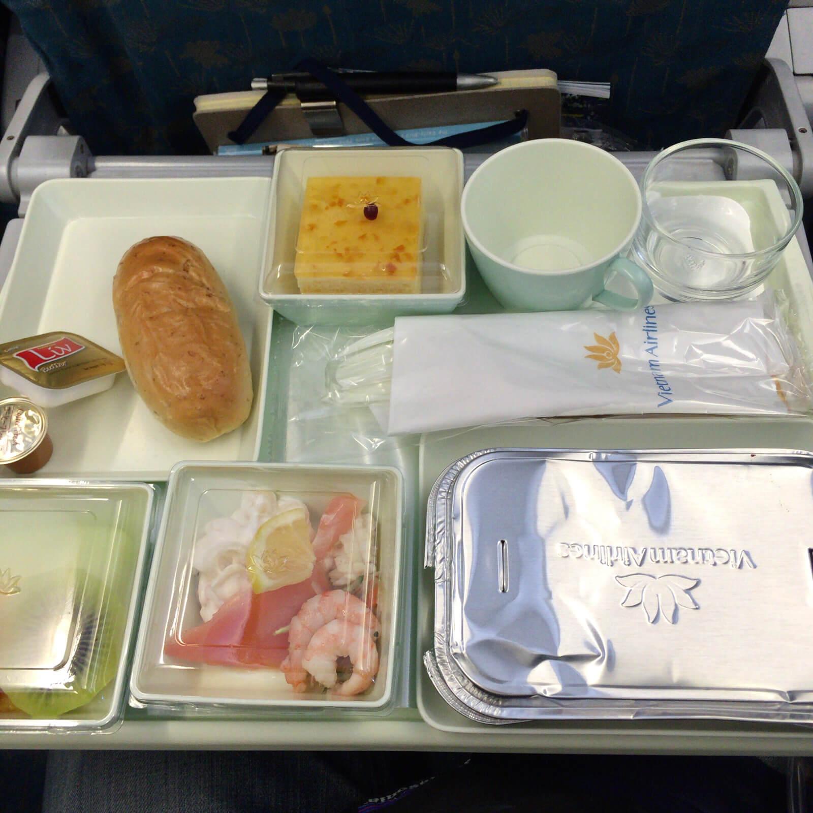 ベトナム航空 機内食