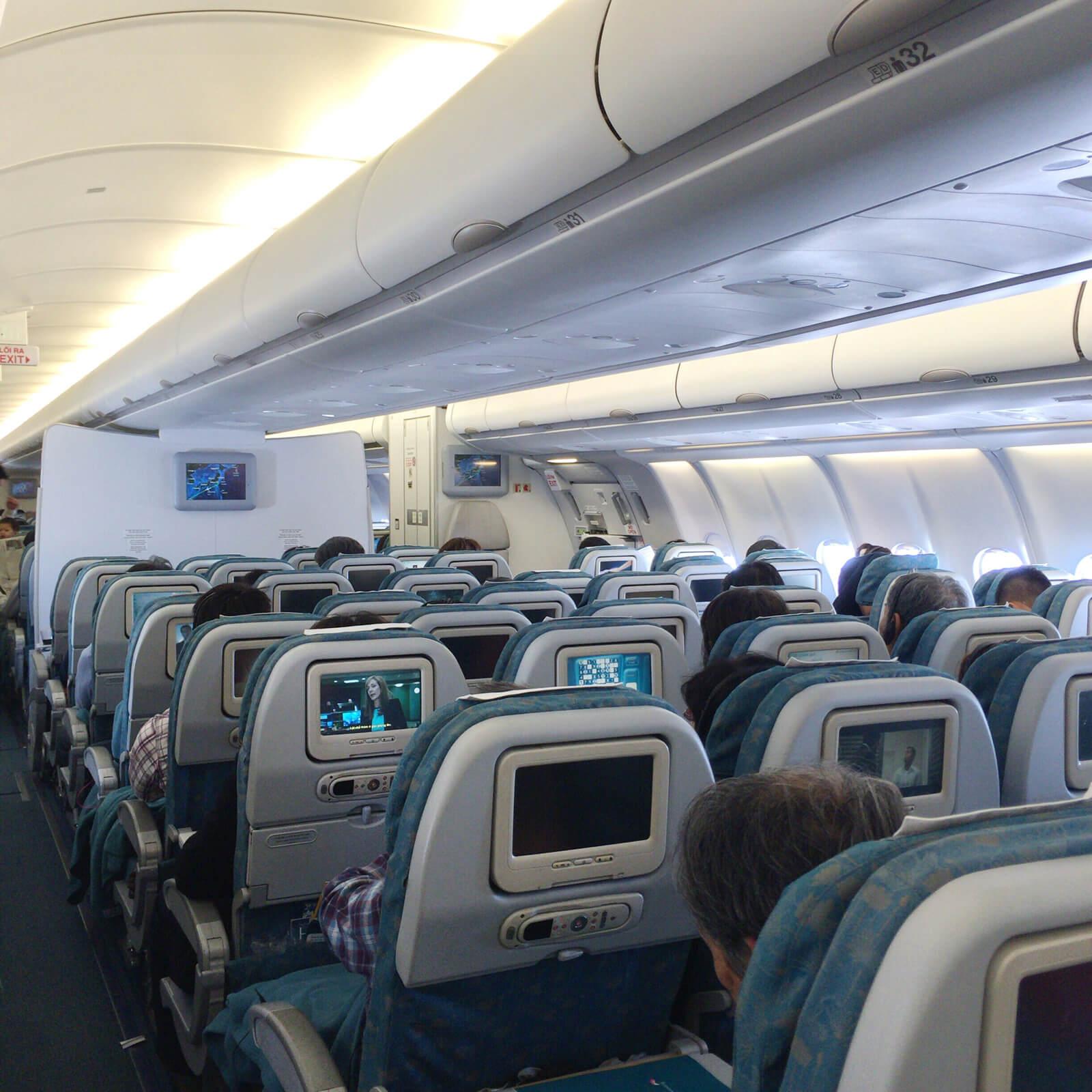 ベトナム航空 機内
