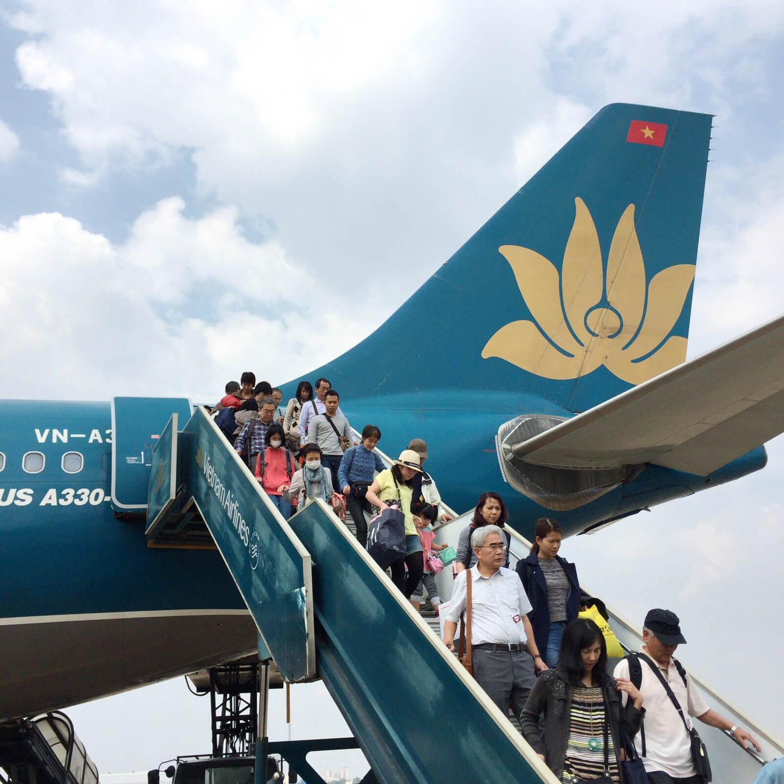 ベトナム航空 到着