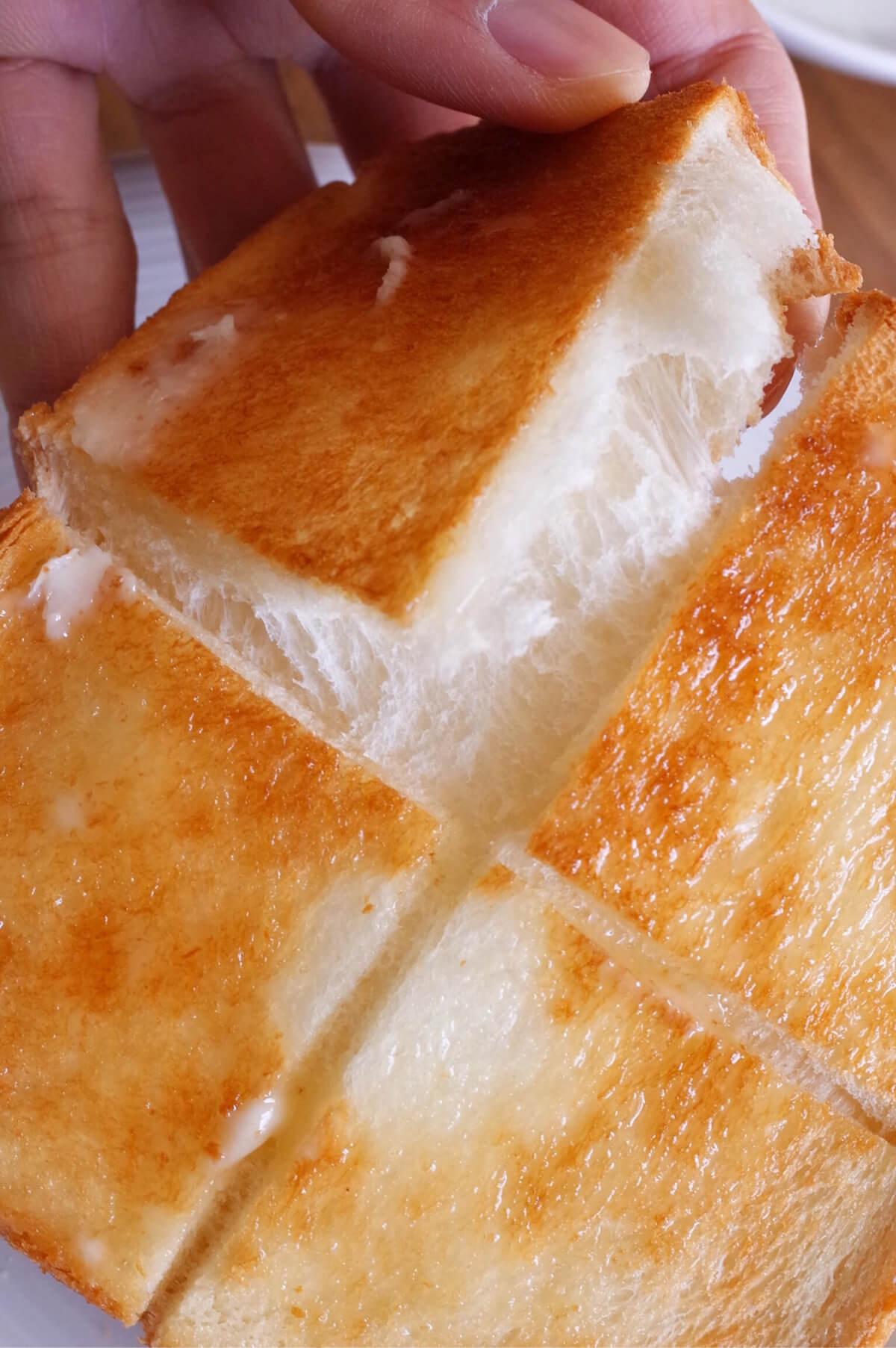 バルミューダ トースター ふっくら 食パン