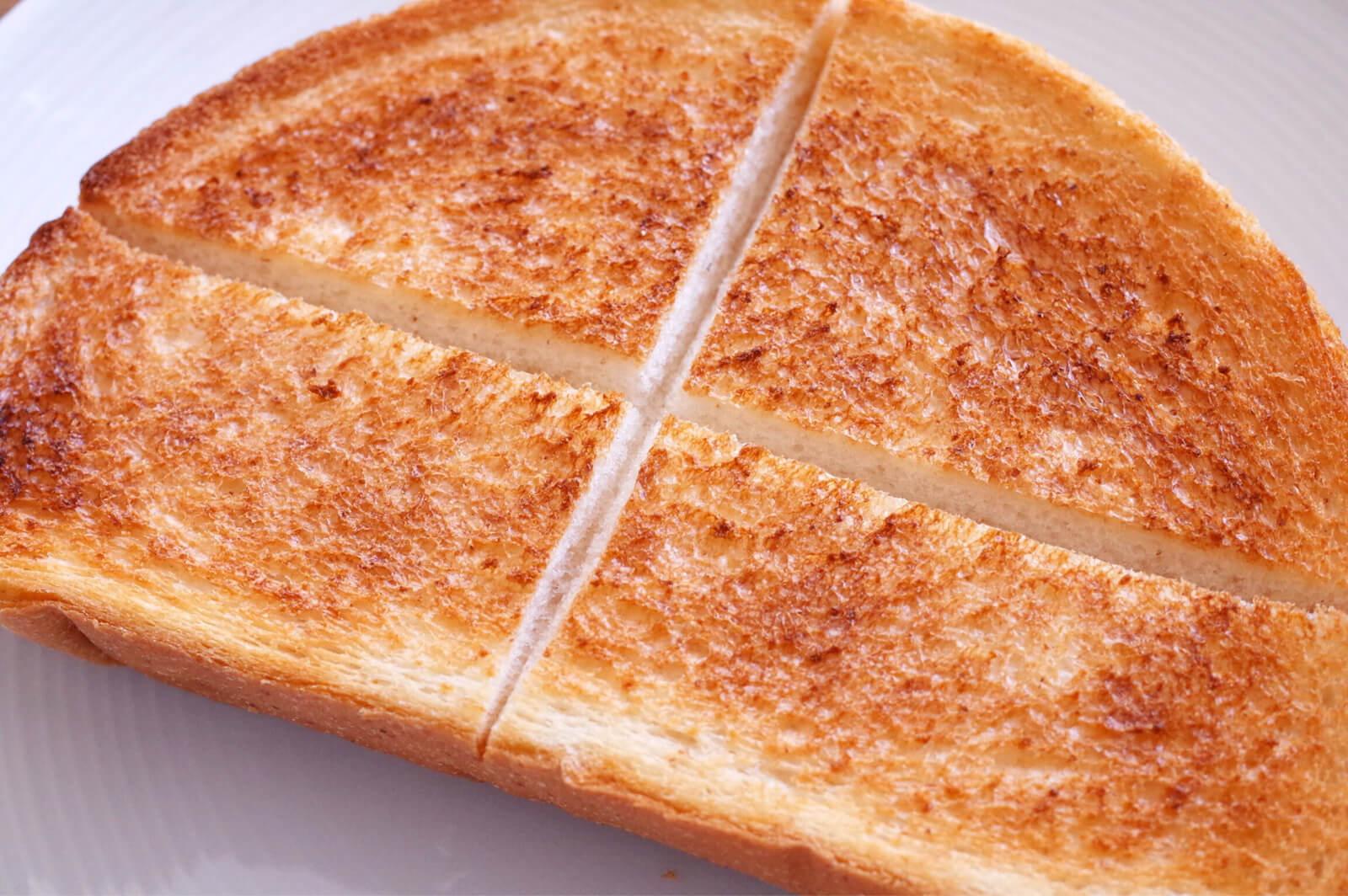 バルミューダ トースター 焼き上がり