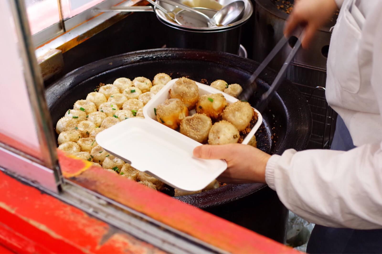 小陽生煎饅頭屋 職人芸