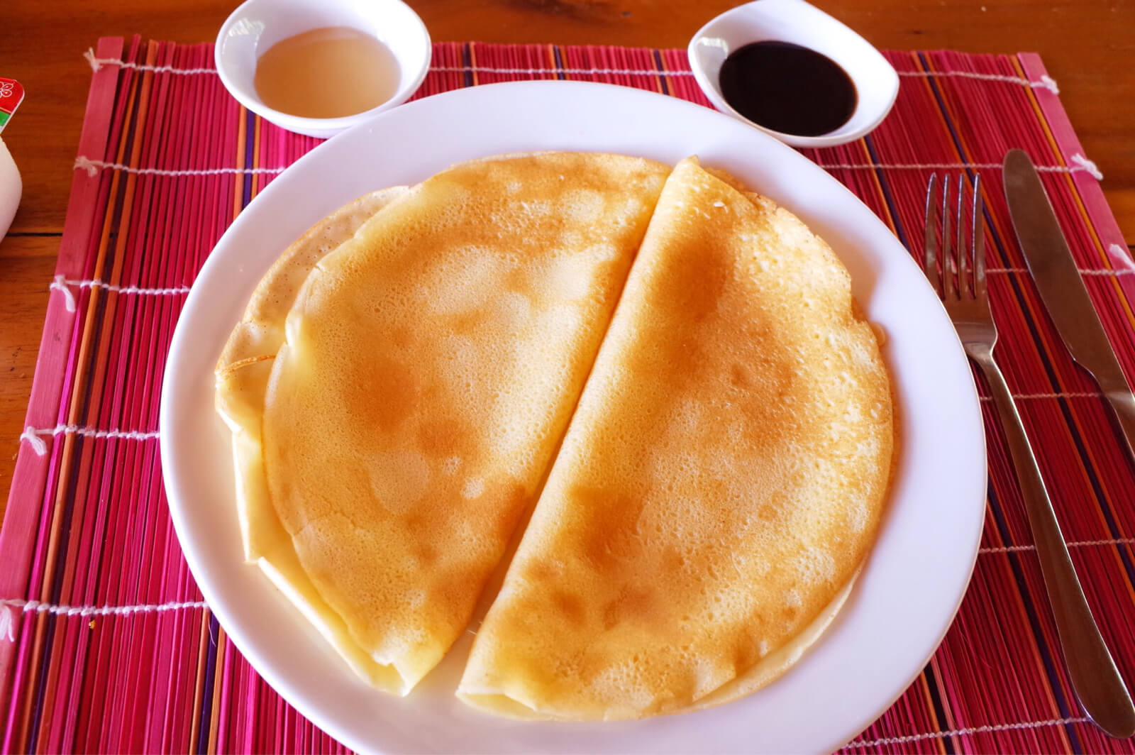 フーコック ワイルドビーチ リゾート 朝食 クレープ