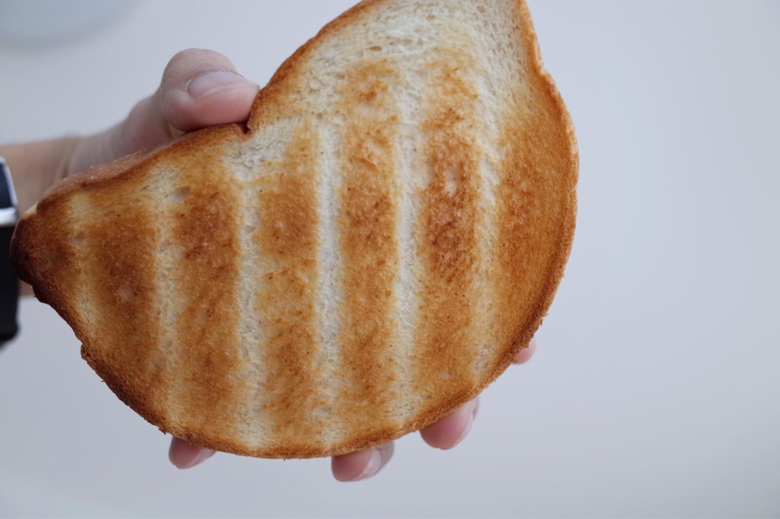 バルミューダ チーズトースト