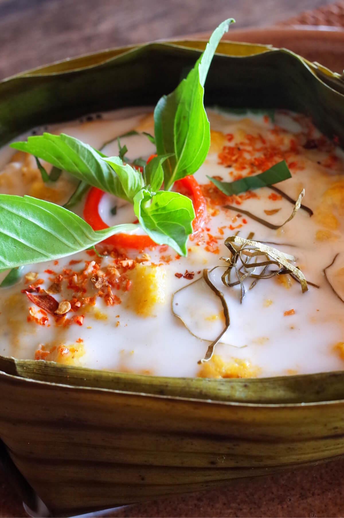 マンゴーベイ レストラン フーコック 魚蒸し