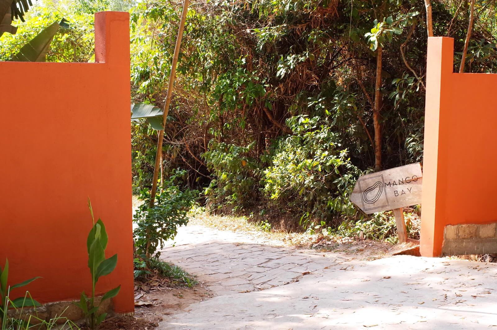 マンゴーベイ レストラン フーコック 入口