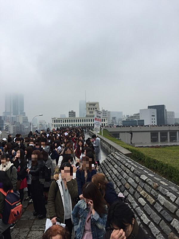 東京ガールズコレクション 行列