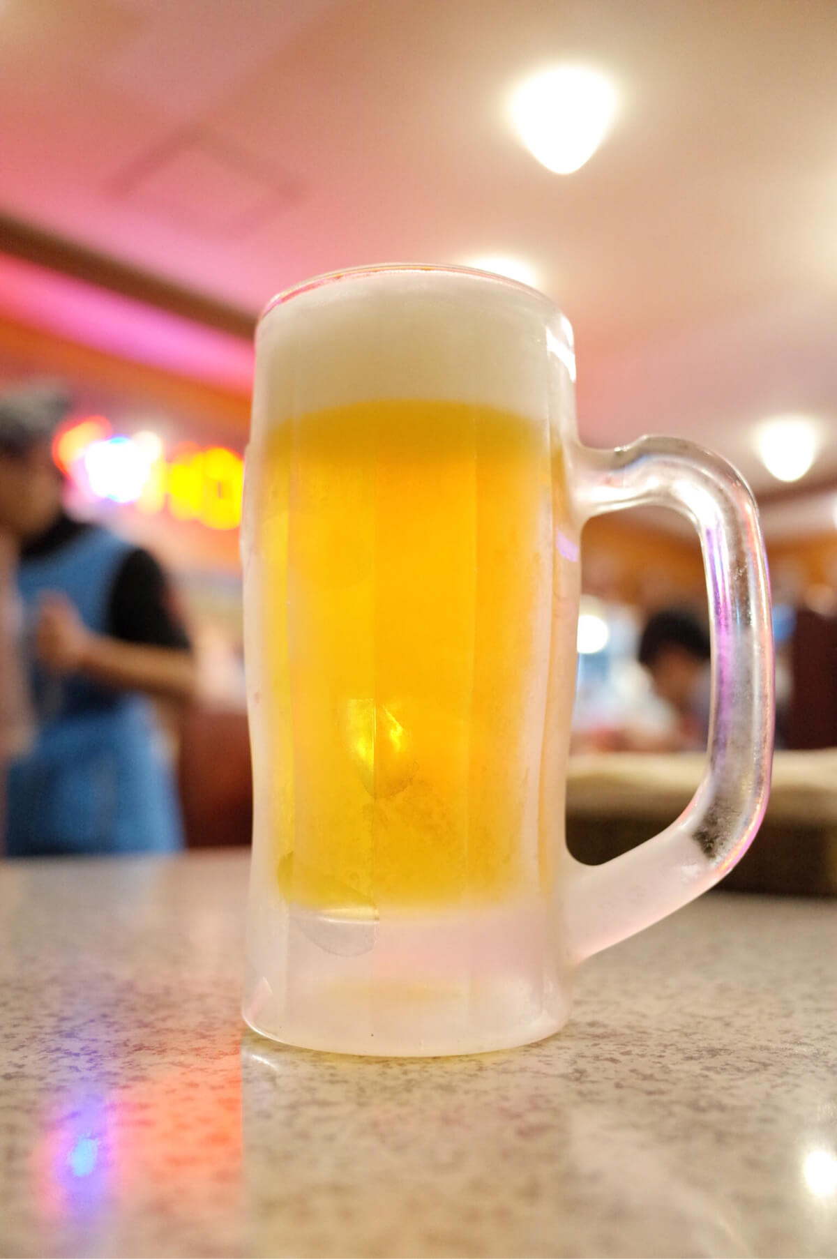 那覇 ステーキハウス 辻本店 オリオンビール