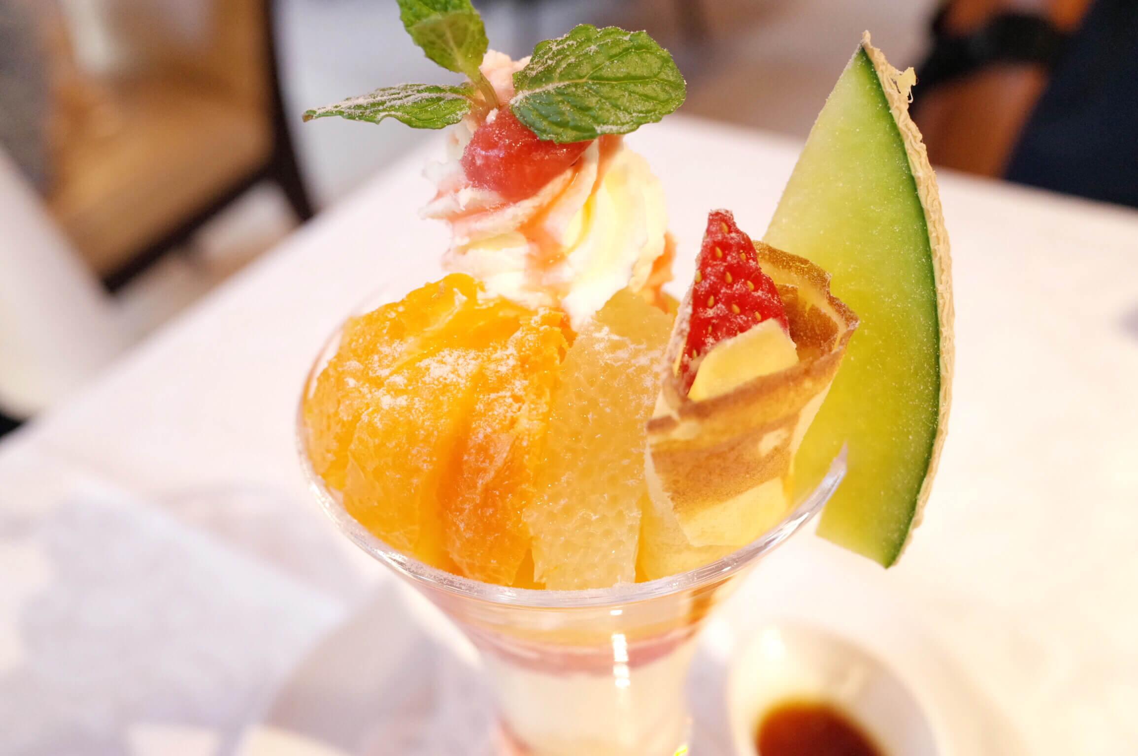 資生堂パーラー 銀座 | 4月の限定パフェは春の国産フルーツ 柑橘系の共演で季節の変わり目を実感!