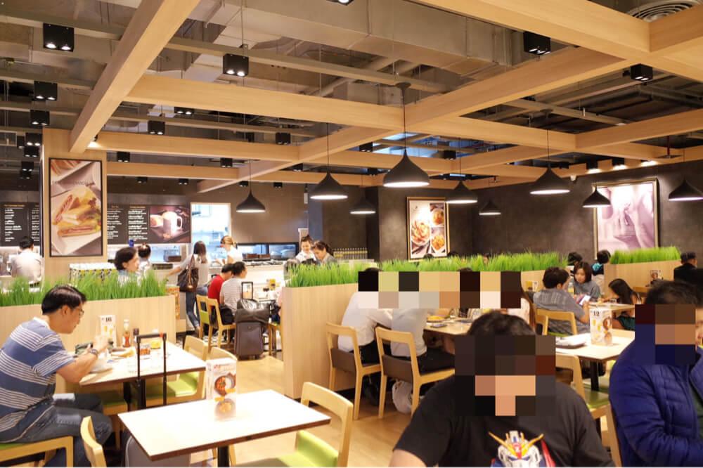 スワンナプーム空港 AIRPORT CAFE 店内
