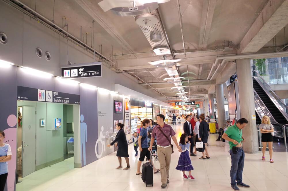 スワンナプーム国際空港 レストラン