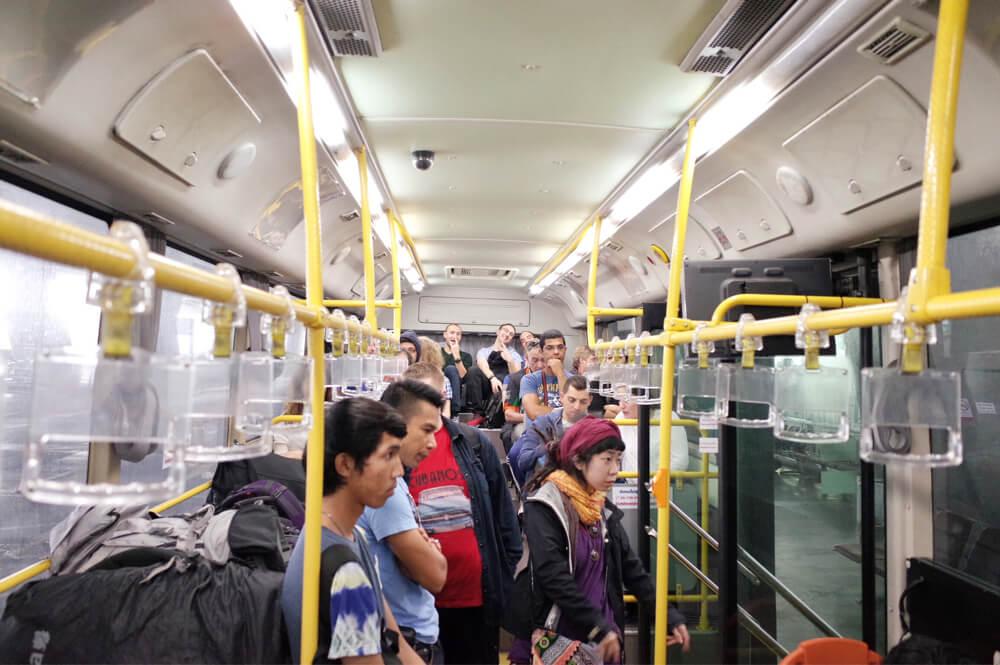 スワンナプーム国際空港 ドンムアン バス